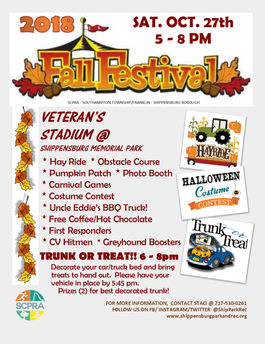 fall festival clipart, Cartoons - Ff 18 - Flyer