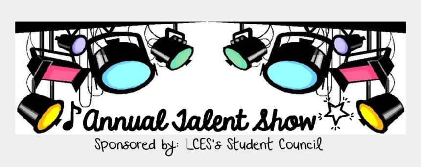 talent show clip art, Cartoons - Lces Talent Show - Light Camera Action