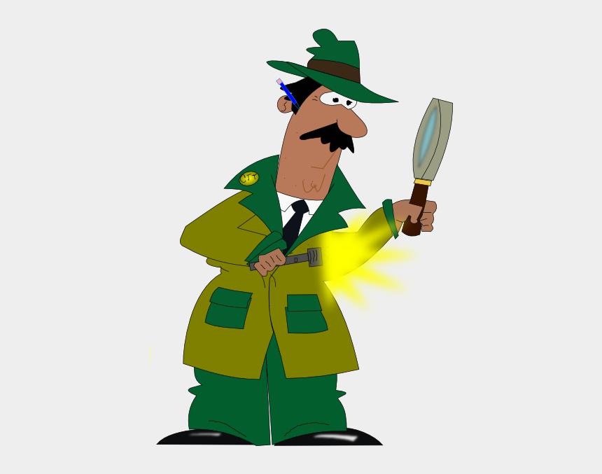 detective clip art, Cartoons - Detective Clip Art - Detective Clipart Png