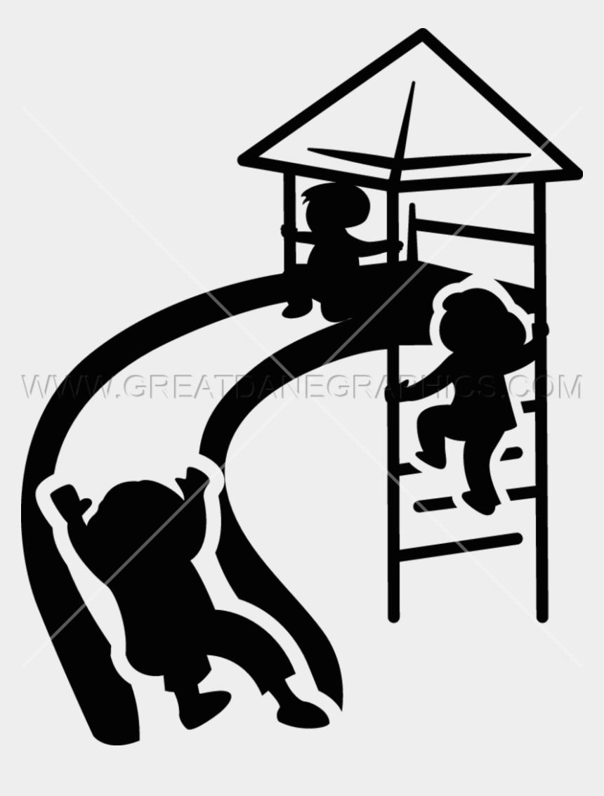 playground clip art, Cartoons - Children Slide Production Ready Artwork For T Ⓒ - Children Slide Clipart