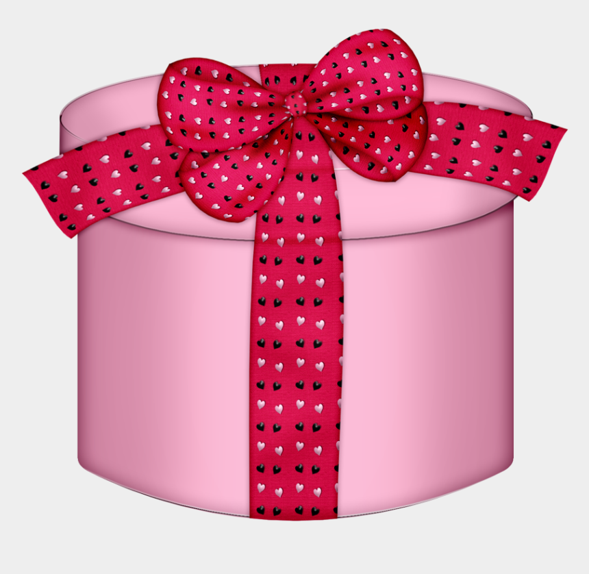 presents clipart, Cartoons - B *✿*sweet Heart Round Gift Boxes, Happy Birthday Clip - Pink Gift Box Png