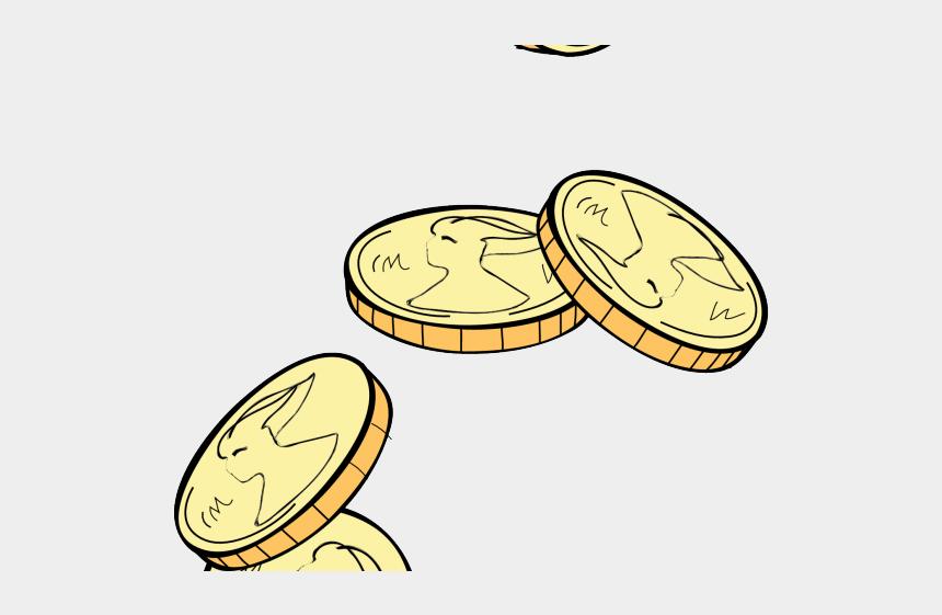 fall festival clipart, Cartoons - Coins Clipart Falling - Falling Coins Clipart