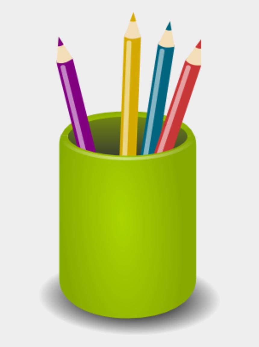 pencil clip art, Cartoons - Pen Clip Art - Pen Holder Clipart