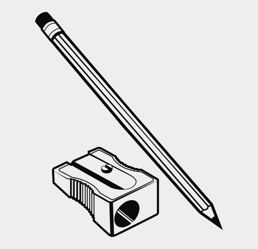 pencil clip art, Cartoons - Pencil Sharpener Png - Pencil Sharpener Clipart Black And White