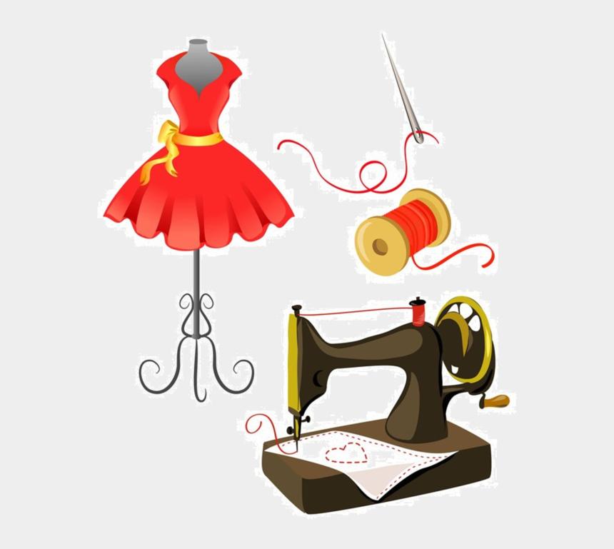 sewing clip art, Cartoons - Sewing Machine Clipart Couture - Imagenes De Maquinas De Coser Animadas