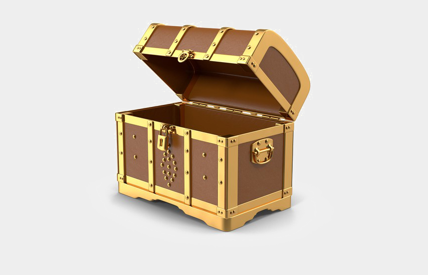 treasure chest clip art, Cartoons - Treasure Chest Png Transparent - Transparent Png Treasure Png