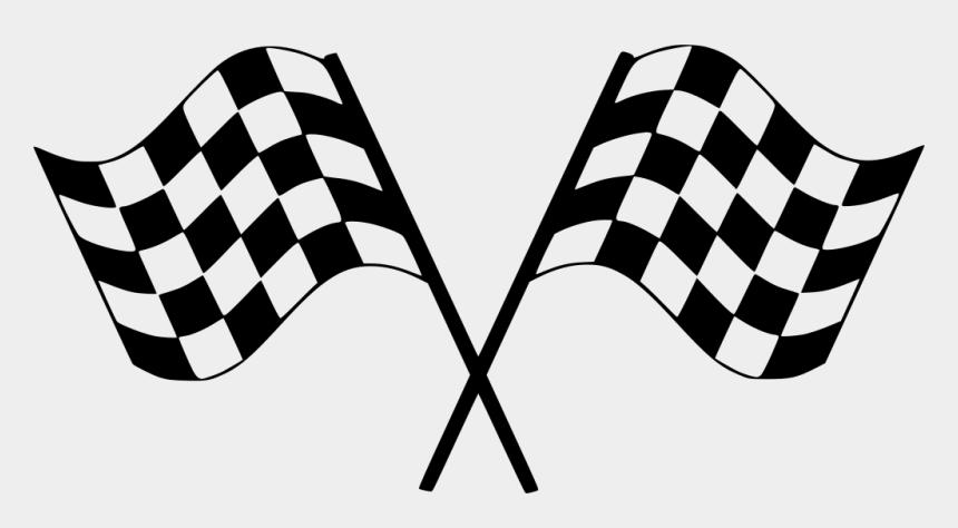 finish line clipart, Cartoons - Bandera Racing Png - Checkered Flag