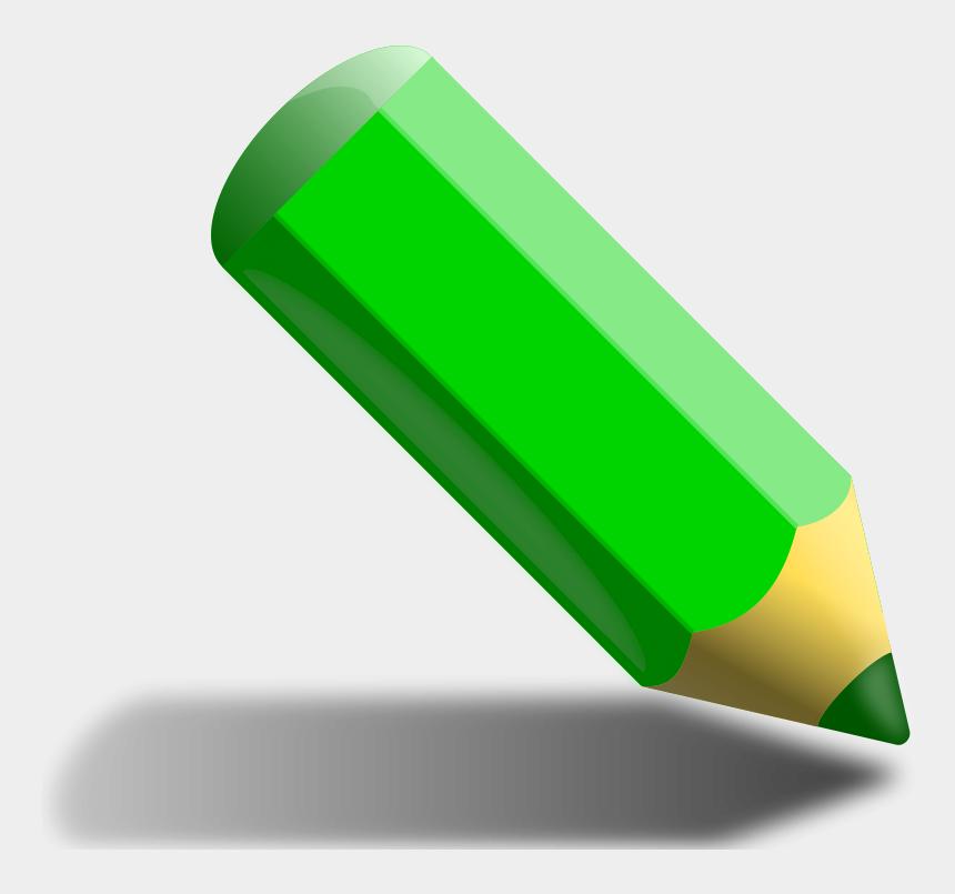 pencil clip art, Cartoons - Free Green Pencil - Green Color Pencil Clipart