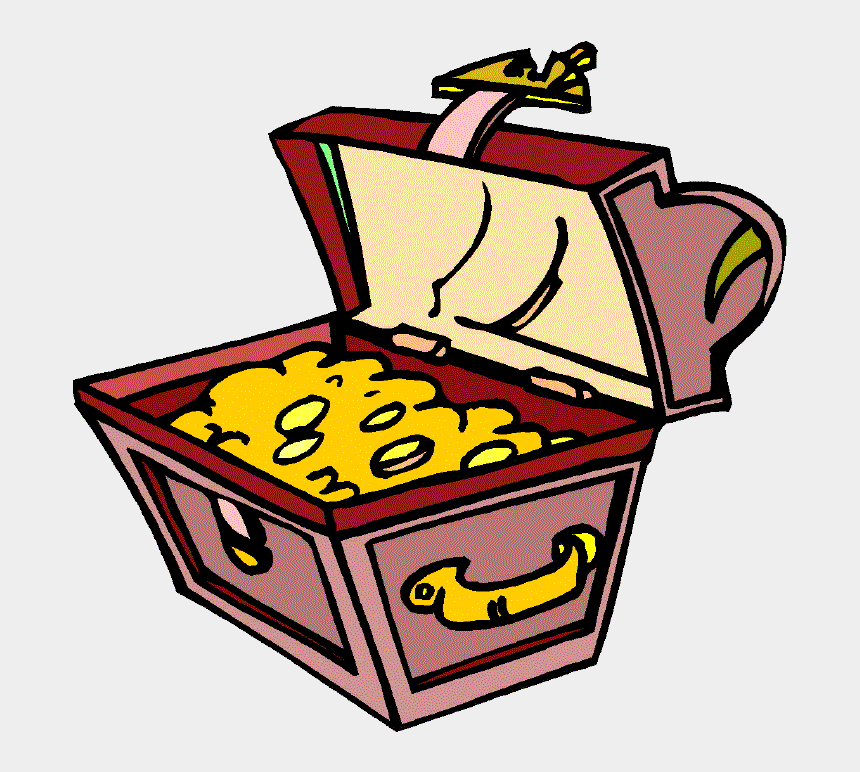 treasure chest clip art, Cartoons - Treasure Chest Gif By Bpvogel - Treasure Chest Clipart Gif
