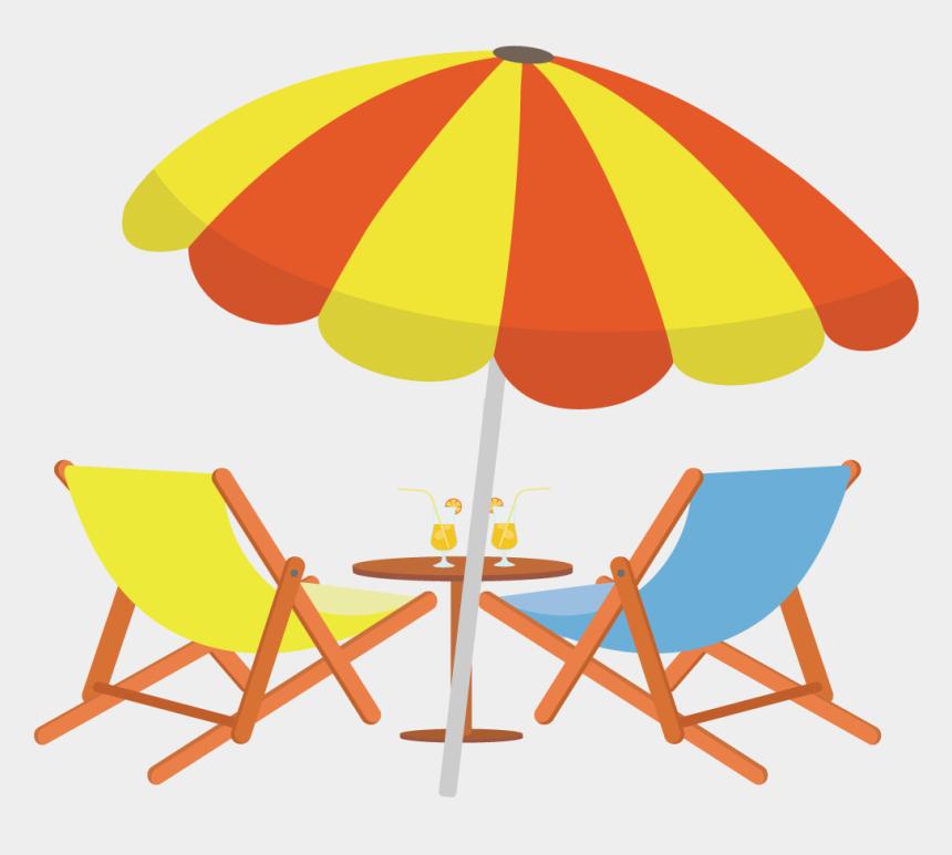 chair clip art, Cartoons - Beach Chair Clipart - Beach Chair And Umbrella Drawing