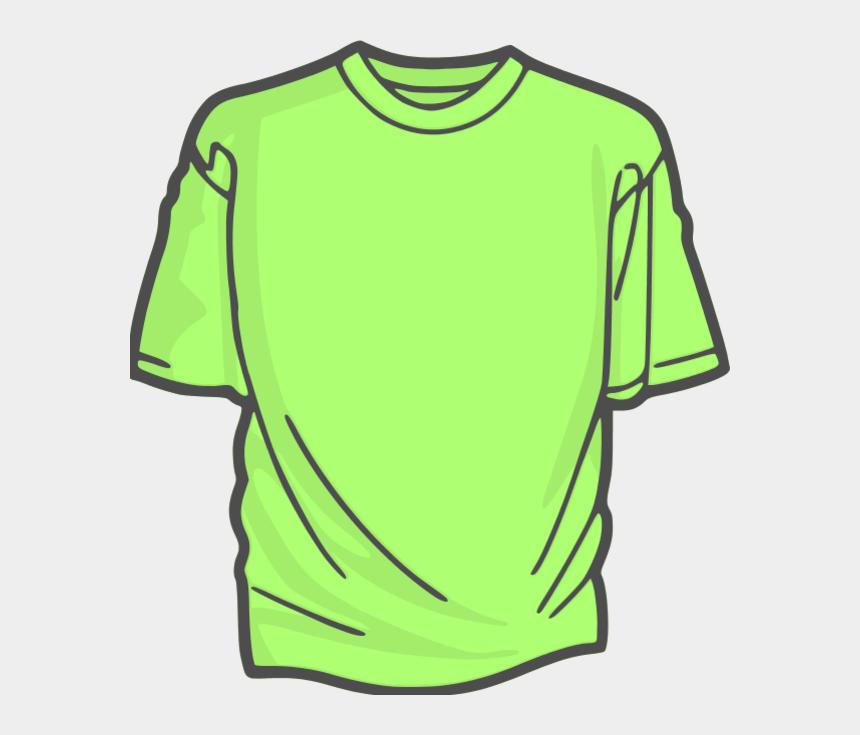 t-shirt clipart, Cartoons - Tshirt Clipart Green Shirt - Cotton T Shirt Drawing