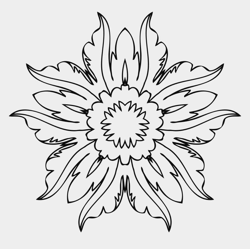 finish line clipart, Cartoons - Clipart Flower Line Art - Design Flower Line Art