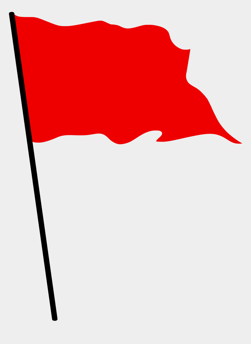 finish line clipart, Cartoons - Flag Clipart Finish Line - Red Flag Waving Png