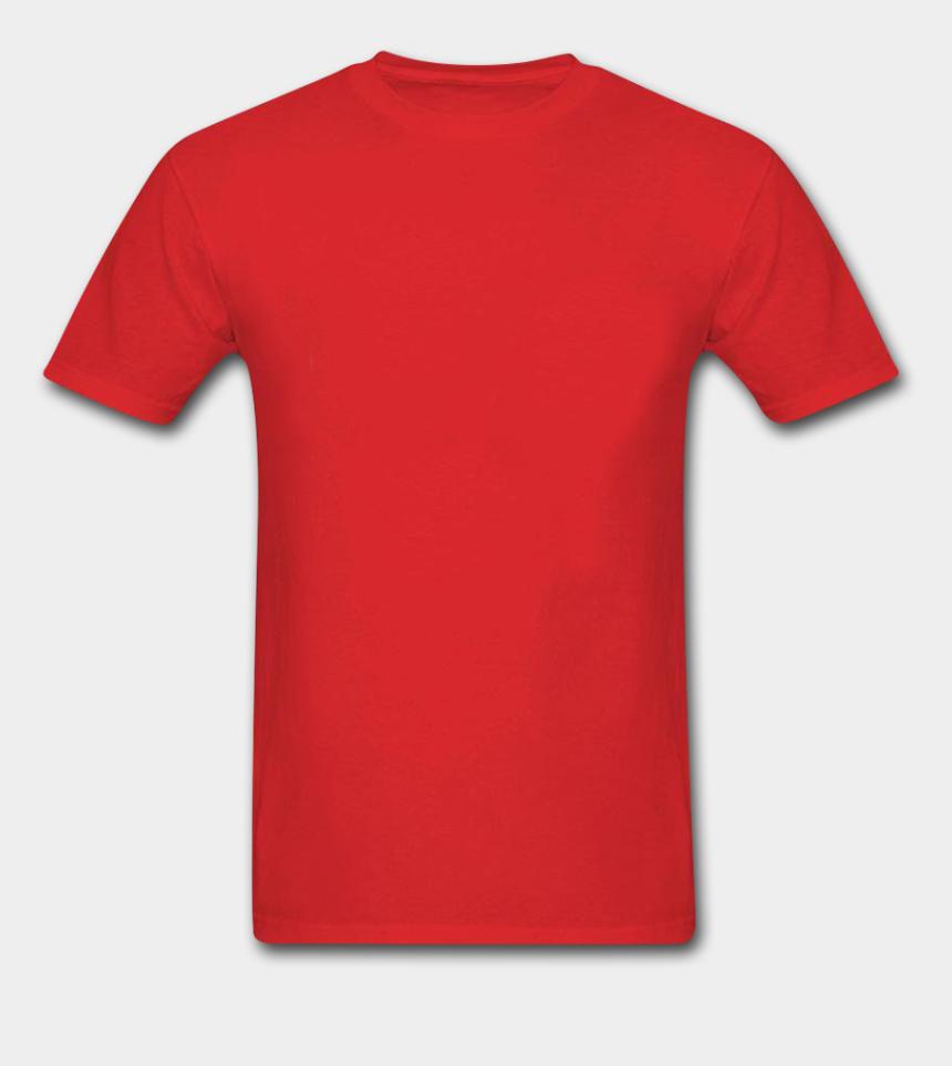 t-shirt clipart, Cartoons - Clothes Clipart Tshirt - Plain Red T Shirt Png