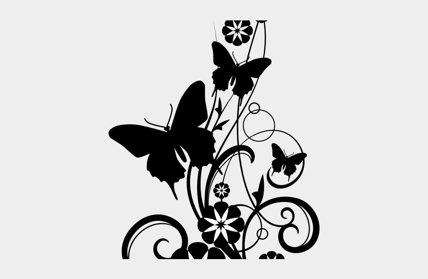 cigar clipart black and white, Cartoons - Potted Plants Clipart Black And White - Page Border Black And White Designs