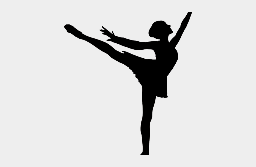 ballet clipart black and white, Cartoons - Ballet Clipart Arabesque Ballet - Ballet Dancer Silhouette Png