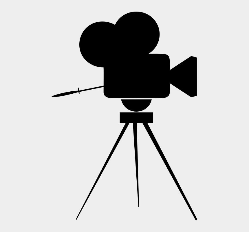 camera clipart transparent background, Cartoons - Tv Camera Png - Movie Camera Icon
