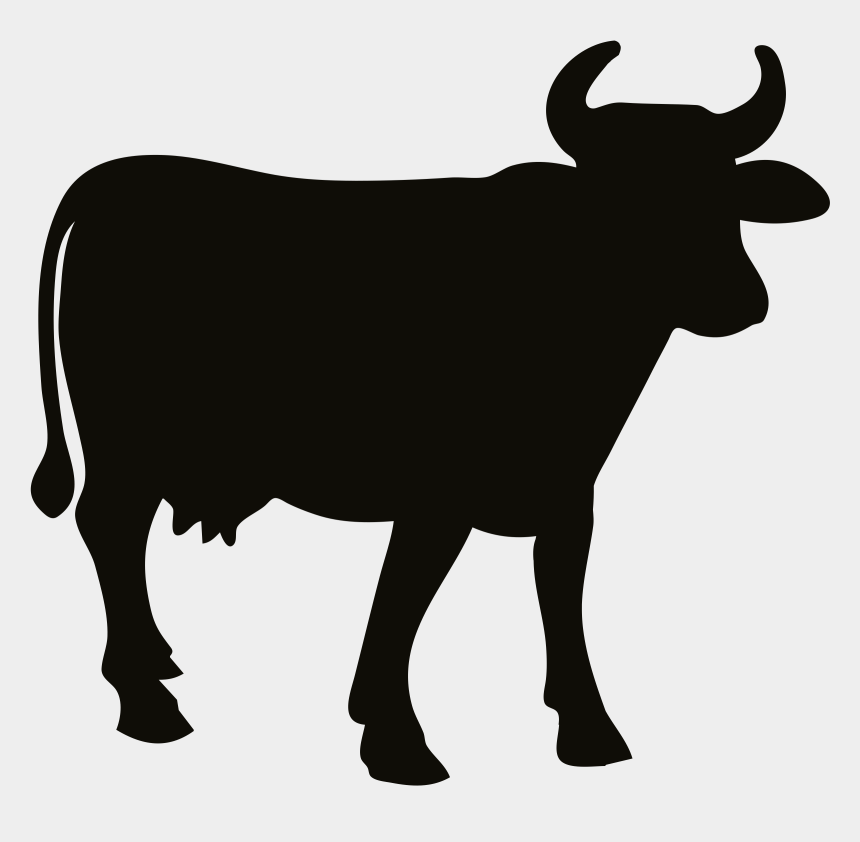ox clipart black and white, Cartoons - Clipart Of Cow, Beef And Cow Of - Black Cow Clip Art