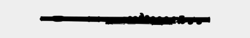 flute clipart black and white, Cartoons - Gun Barrel