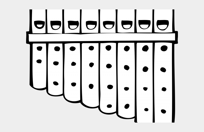 flute clipart black and white, Cartoons - Drawn Fluted Svg - Sigma Alpha Iota Pan Pipes