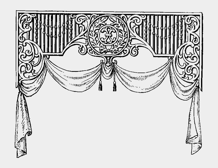 waterfall clipart black and white, Cartoons - Design Elements, Canopy, Clipart, Exhibit, Silhouettes, - Telon De Teatro Blanco Y Negro