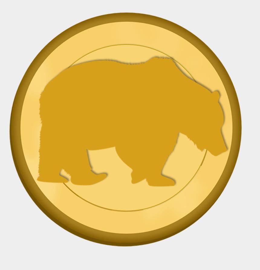 polar bear on ice clipart, Cartoons - - Polar Bear Coin - Brown Bear