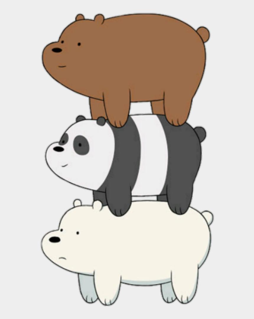 polar bear on ice clipart, Cartoons - Polarbear Sticker - We Bare Bears Png
