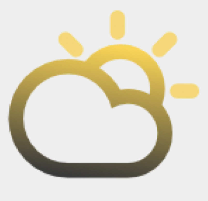 partly sunny clipart, Cartoons - Cloudy Clipart Dull - Cloudy Sunny Intervals Png