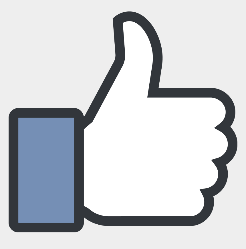 thumbs up and down clipart, Cartoons - Thumbs Clipart Achieved - Facebook Like Logo