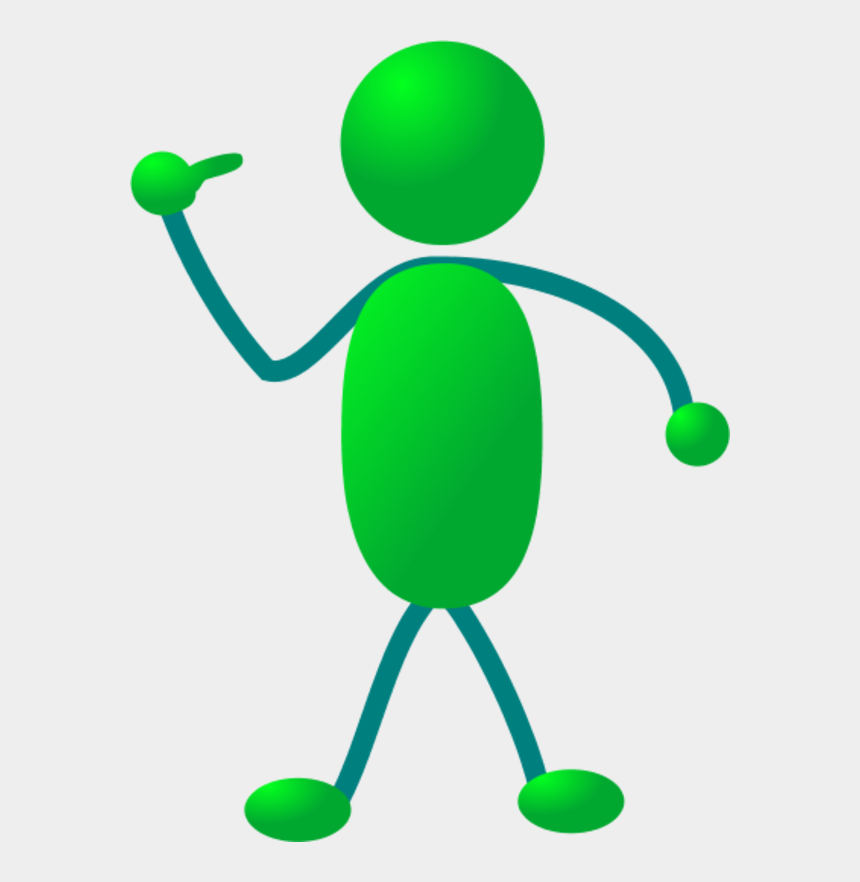 finger pointing at you clipart, Cartoons - Stickman Pointing Finger To Himself - Stickman Clipart