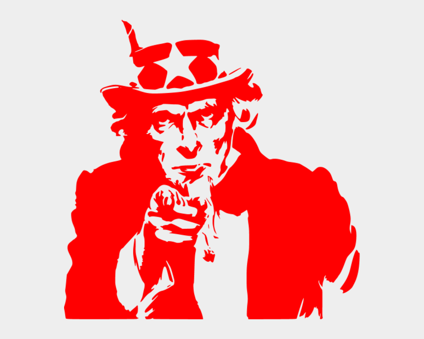 finger pointing at you clipart, Cartoons - Uncle Sams Finger Collection - Uncle Sam Pointing