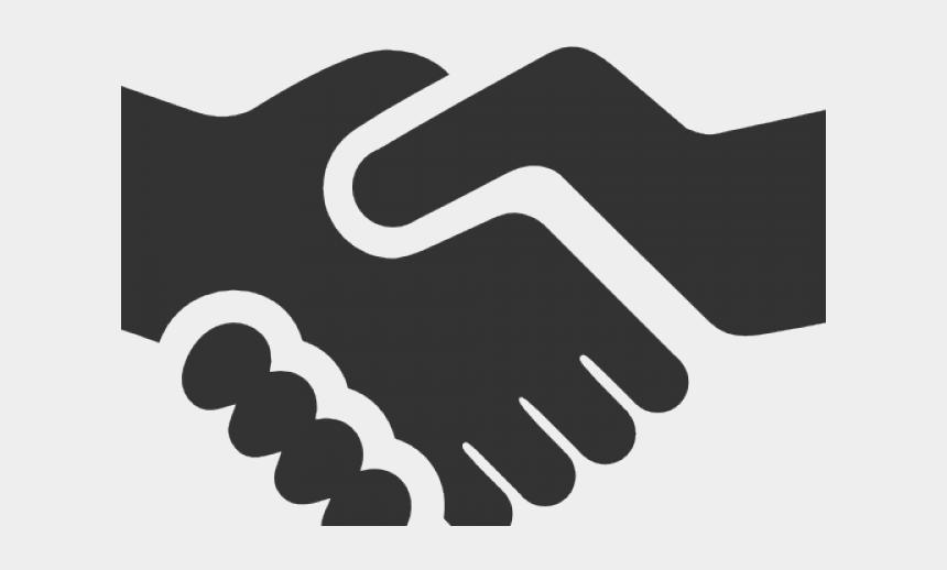 hand shake clipart, Cartoons - Hand Shake Icon