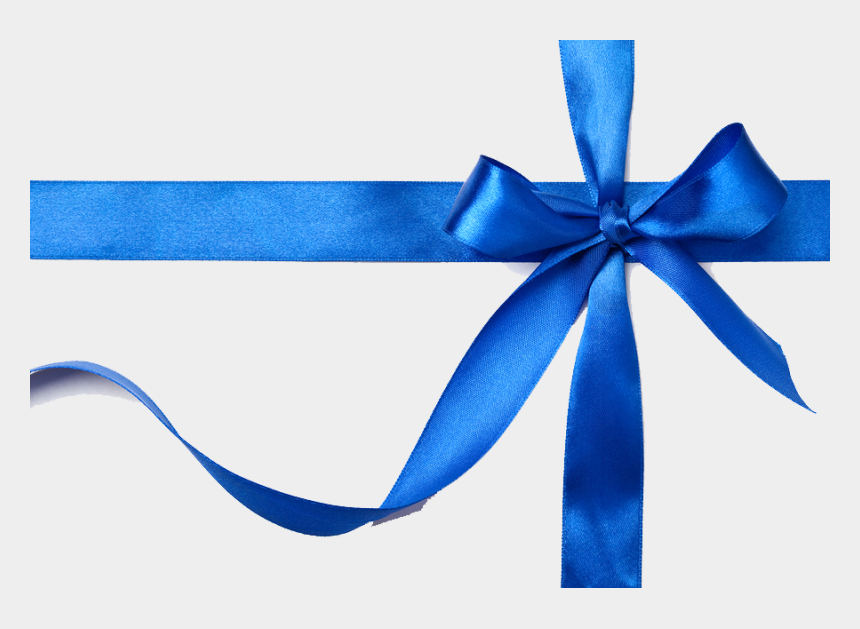 blue bow clipart, Cartoons - Blue Gift Bow Png - Blue Gift Ribbon Png