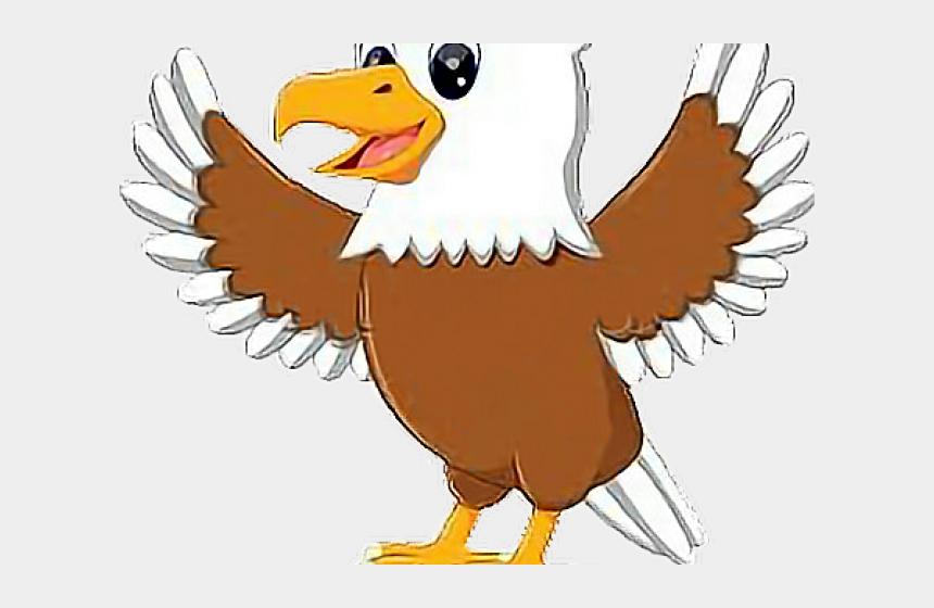 bald eagle clipart, Cartoons - Cute Eagle Head Clipart