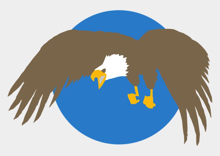 bald eagle clipart, Cartoons - Blue, Circle, Eagle, Background, Wings - Eagle Png Circle