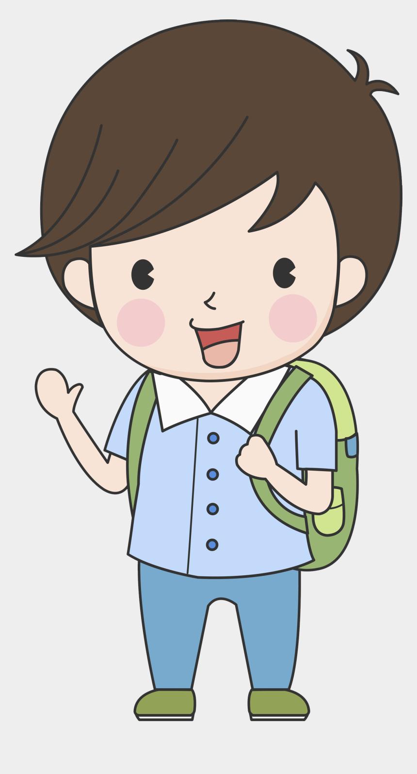school kid clipart, Cartoons - Paper Child Material Clip Art School Transprent Ⓒ - School Boy Clipart Png