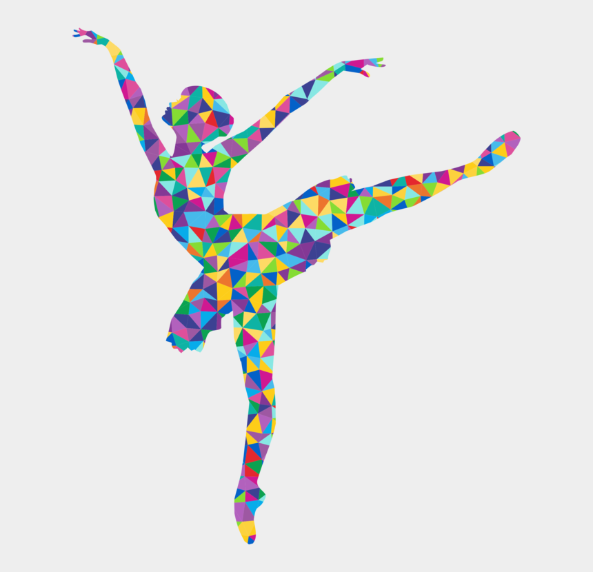 line dancer clipart, Cartoons - Ballet Dancer Silhouette Drawing Performing Arts - Dance In Low Poly