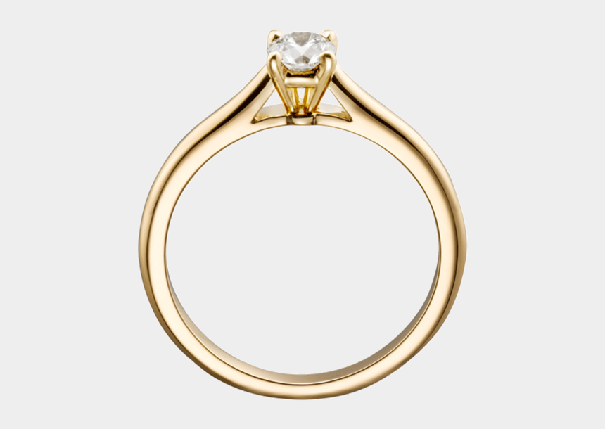 diamond ring clipart no background, Cartoons - Ring Png, Download Png Image With Transparent Background, - Gold Ring Transparent