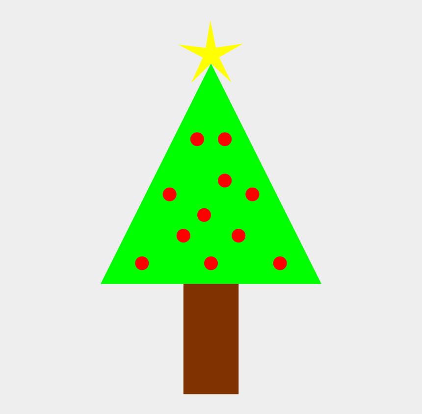 simple christmas tree clipart, Cartoons - Christmas Tree Clipart Christmastree - Christmas Clipart Png Transparent Background