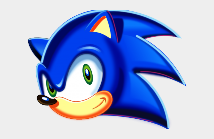 Sonic The Hedgehog Clipart Face Sonic The Hedgehog Head Png Cliparts Cartoons Jing Fm
