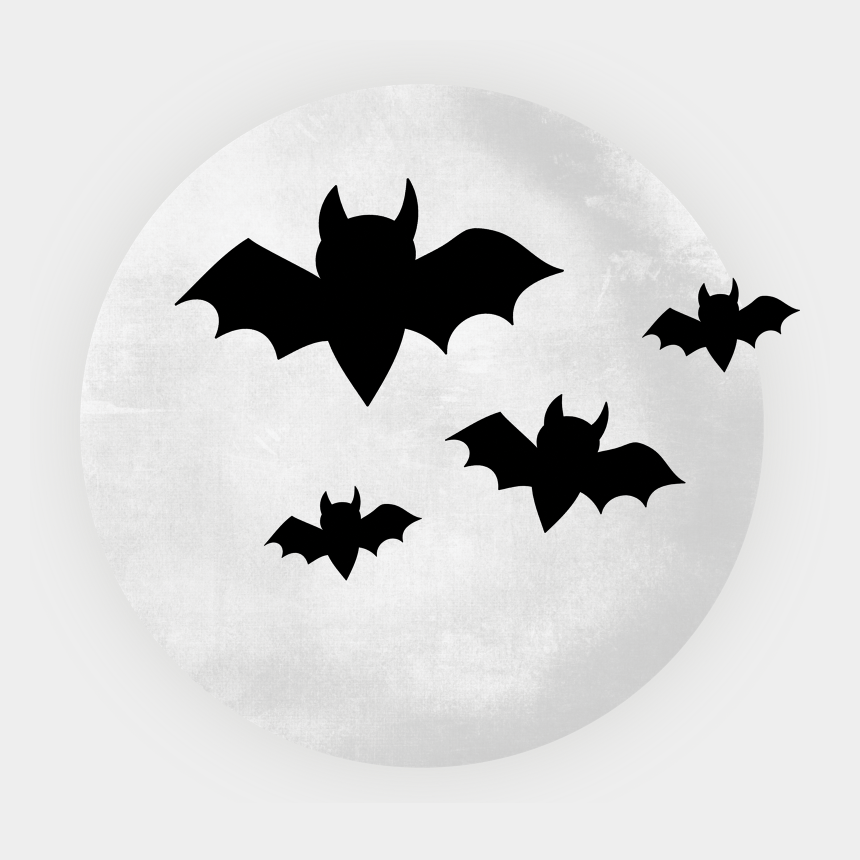 halloween bat clipart black and white, Cartoons - Emblem