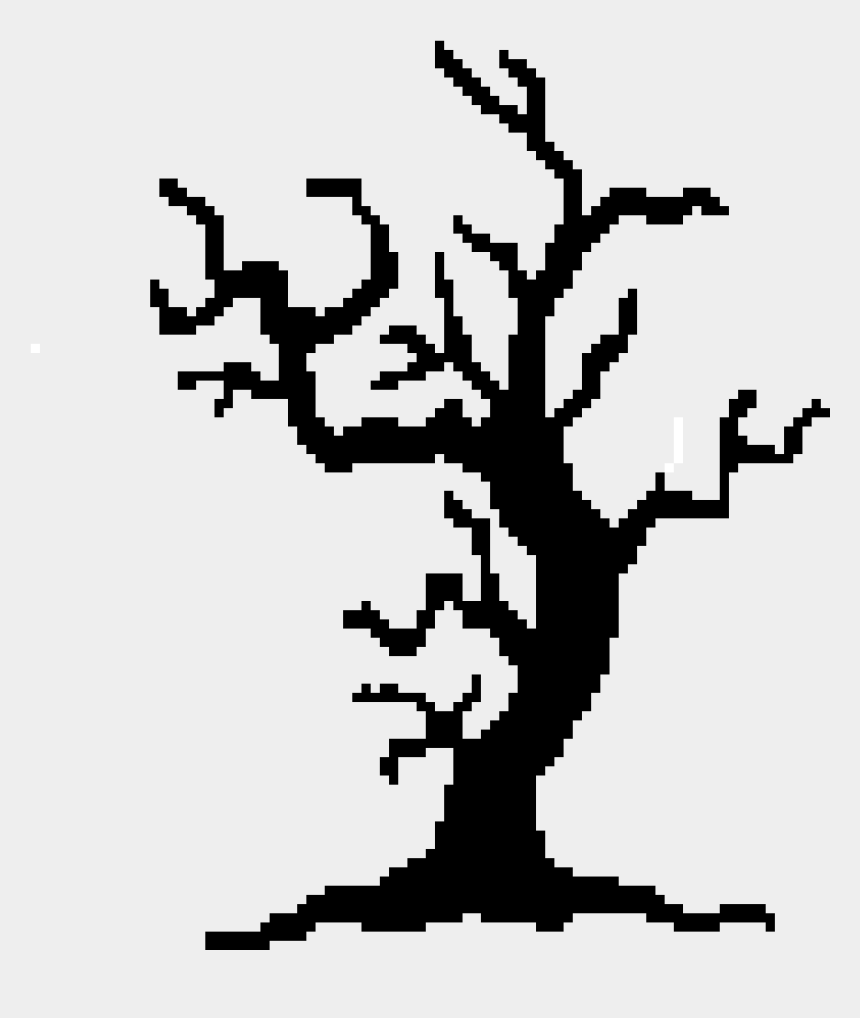 spooky tree clipart, Cartoons - Spooky Trees Clipart , Png Download - Spooky Tree Shape