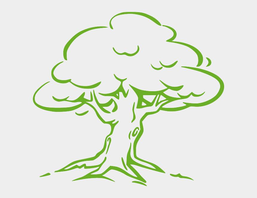 spooky tree clipart, Cartoons - Shade Tree Cliparts - Oak Tree Drawing Easy