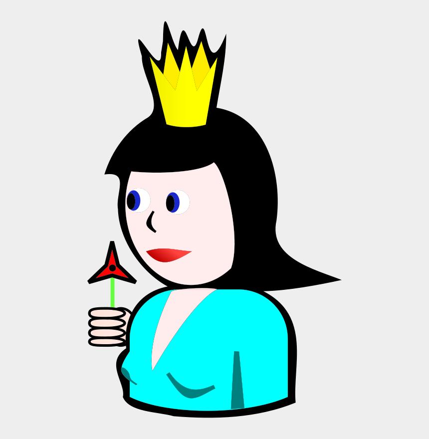 diamonds clipart, Cartoons - Queen Of Hearts Card Clipart