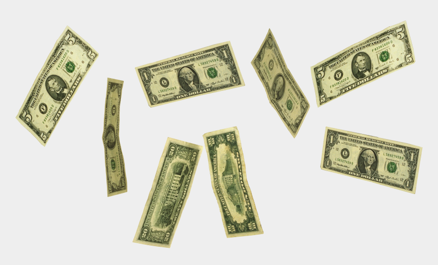 clipart of money, Cartoons - Falling Money Png - Raining Money Gif Png