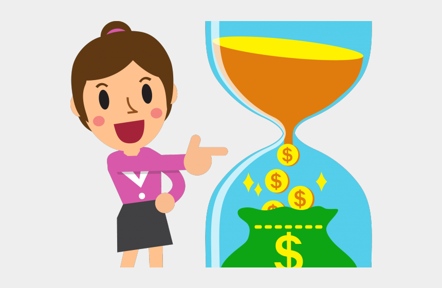 clipart of money, Cartoons - Investing Clipart Money Management - Sip Investment