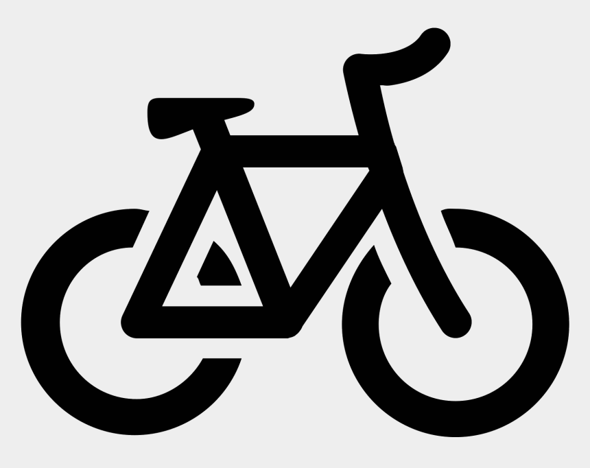 bicycle clipart black and white, Cartoons - Bicycle Icon Free Download Png And Vector Ⓒ - Black Bike Icon Transparent