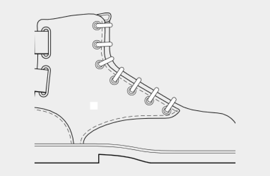 combat boots clipart, Cartoons - Boot Clipart Combat Boot - Draw A Cartoon Boot