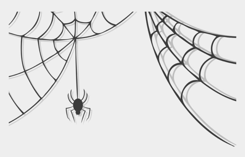 corner spider web clipart, Cartoons - Corner Transparent Spider Web Graphic Royalty Free - Spider Web Vector Png