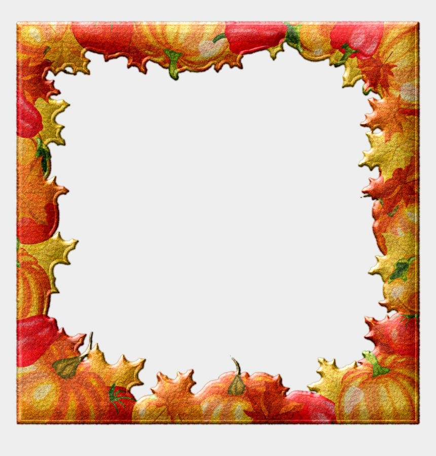 october border clipart, Cartoons - October Sample Kit Challenge - Fall Leaves Powerpoint Background